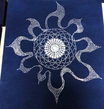 Dot Sun & Mandala