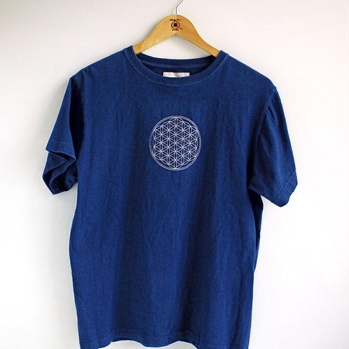 Flower of Life T-shirt Dark (S)