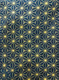 麻柄ゴールド  Hemp leaf pattern