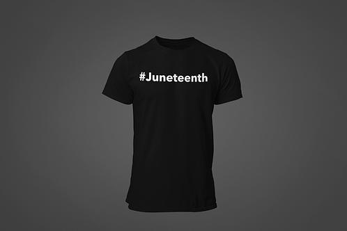 Junetheenth Hashtag Men's