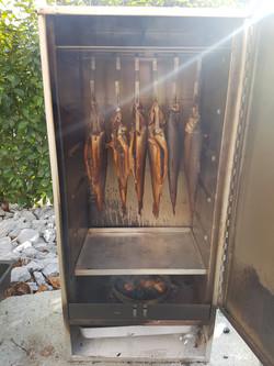 Hausgeräucherte Forellenfilets