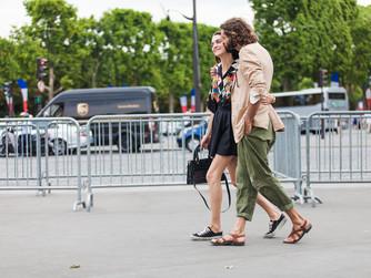Paris fashion week - Haute Couture - street style 07 July 2015