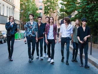 Paris fashion week - Men's wear - street style 28 June 2015
