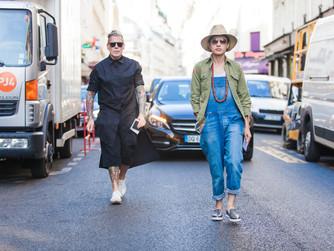 Paris fashion week - Men's wear - street style 25 June 2015