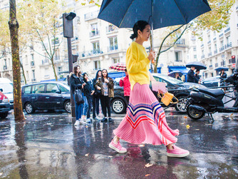 Paris fashion week - Ready to wear - street style 05 Octobre 2015