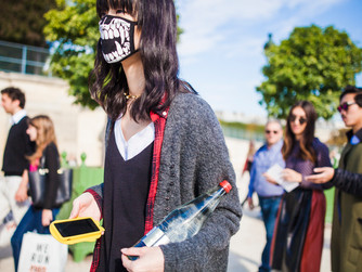 Paris fashion week - Ready to wear - street style 03 Octobre 2015