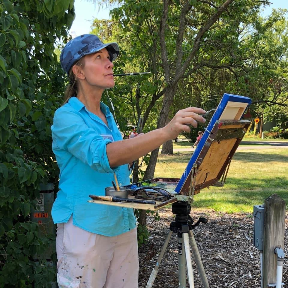 Plein Air Ellwood House
