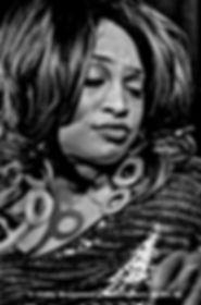 Close up of Jj Thames wih pursed lips Liege Belgium 2016