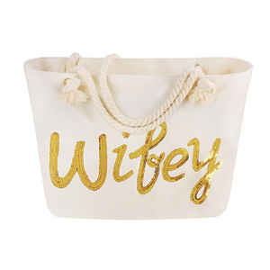 Wifey Beach Bag