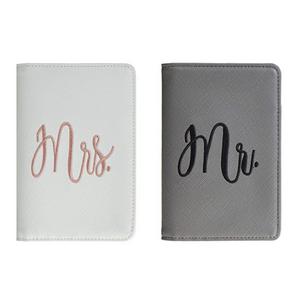 Mr. and Mrs. Passport Holders