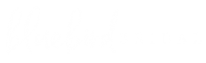Bluebird Bridal Logo{CMYK} Landscape_Whi