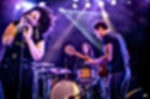 Jj thames performing in Bagnols France afro and lights