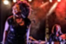 Jj Thames performing in france bagnols blues festival 2015