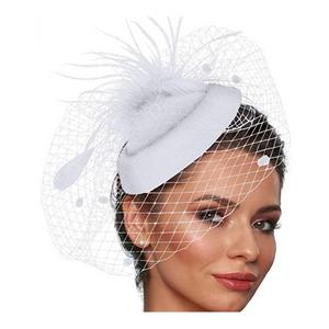 Pillbox Hat with Veil