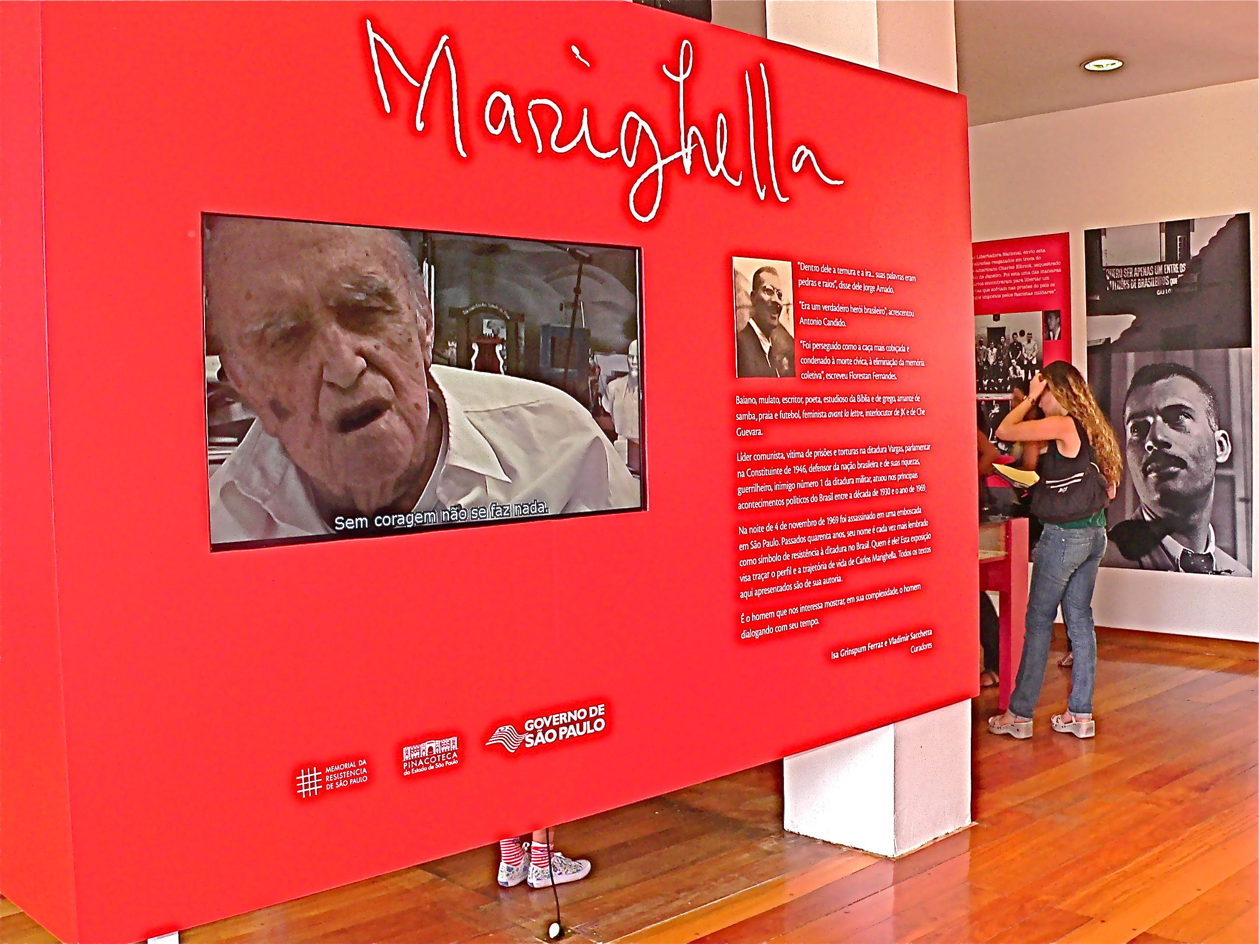 Exposição Marighella
