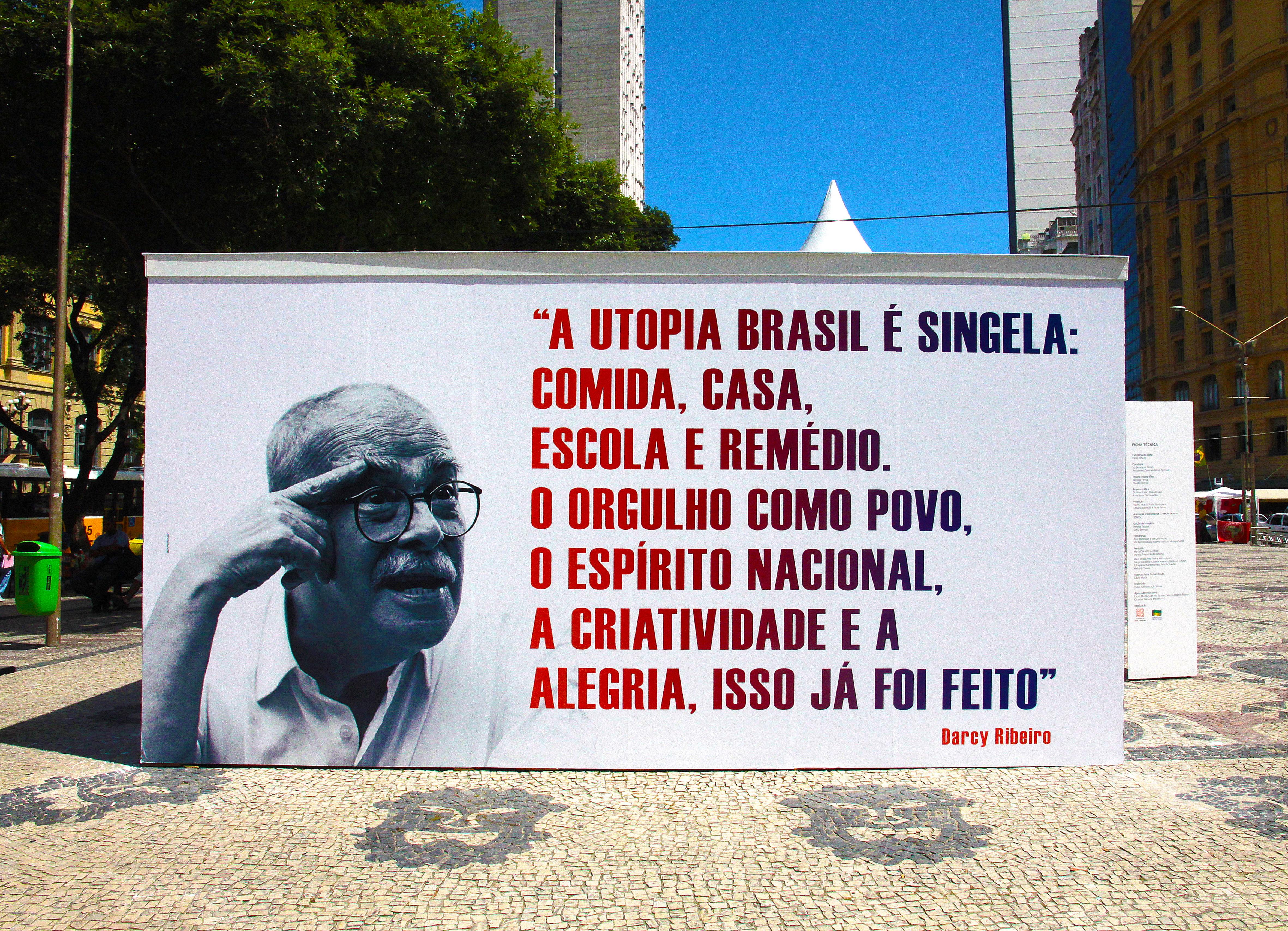 Darcy Ribeiro - A Utopia Brasil