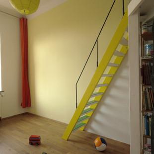 yellow children's room