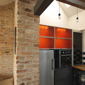 loft kitchenette