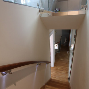 staircase from the loft