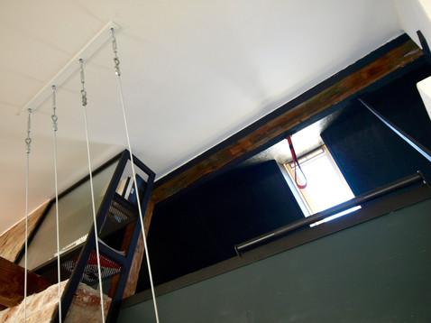 podkrovní úkryt/ložnice pro hosty