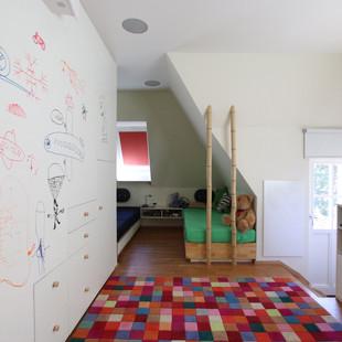green children's room