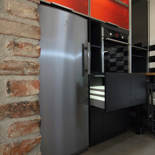loft kitchenette