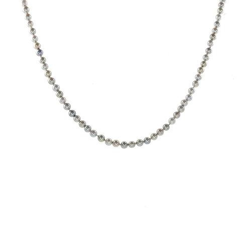 Collier de perles fines