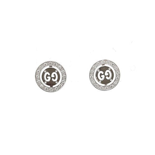 White gold earrings GUCCI