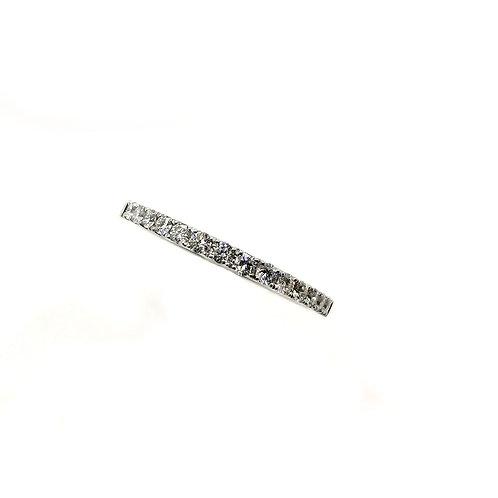 Bague Or blanc 18 carats diamants blancs