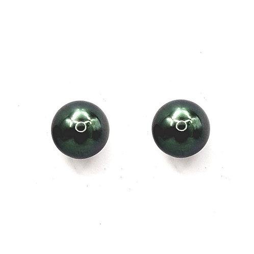 Boucle d'oreille perle de Tahiti sur or 18 carats
