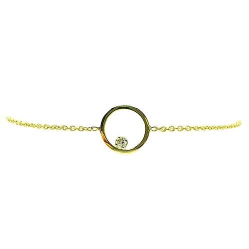 Bracelet or jaune Diamant