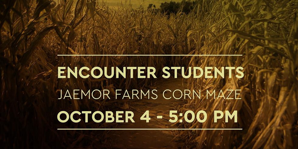 Encounter Students - Corn Maze Trip