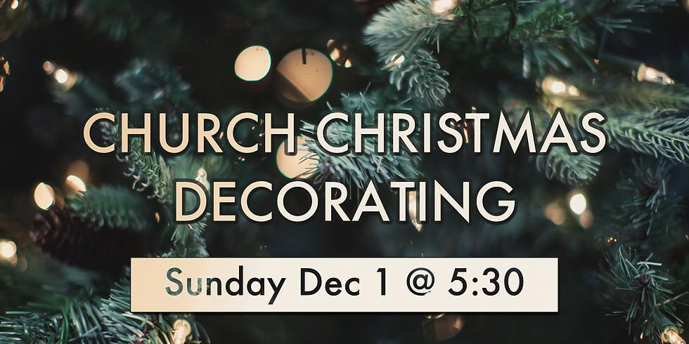 Church Decorating