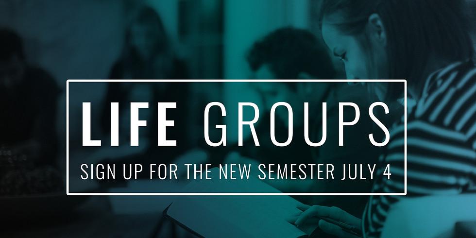 Life Group Signups