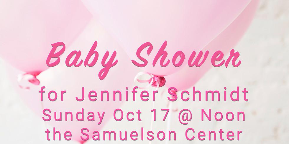 Baby Shower: Schmidt