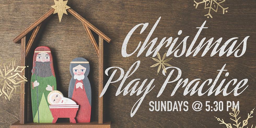 Christmas Play Practice