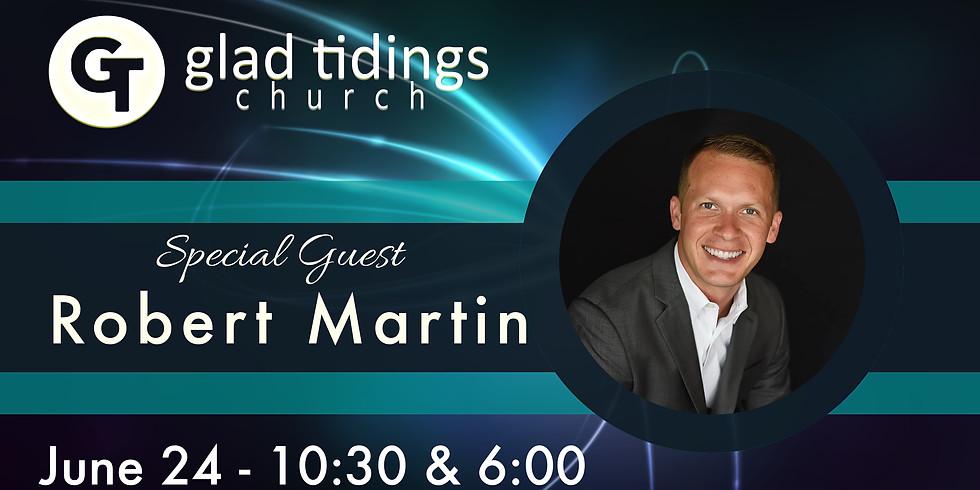 Special Guest Robert Martin