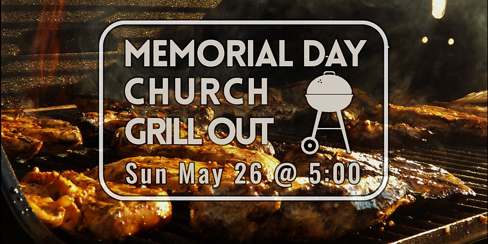 Church Grill Out