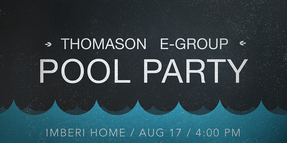 Thomason E-Group Pool Party