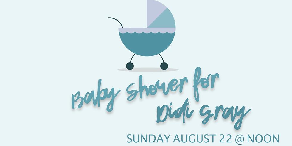 Baby Shower: D. Gray