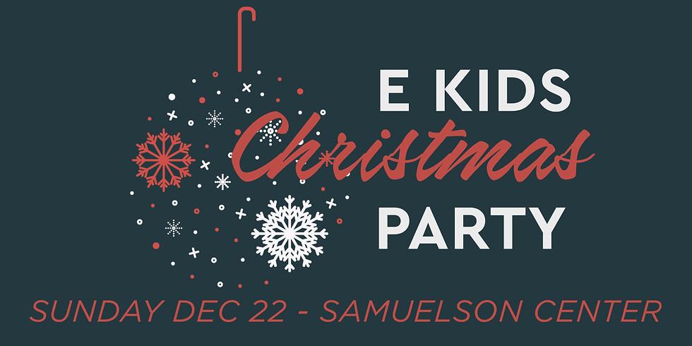 E Kids Christmas Celebration