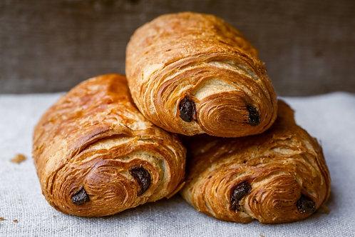 Le lot : 4 croissants + 4 chocolatines