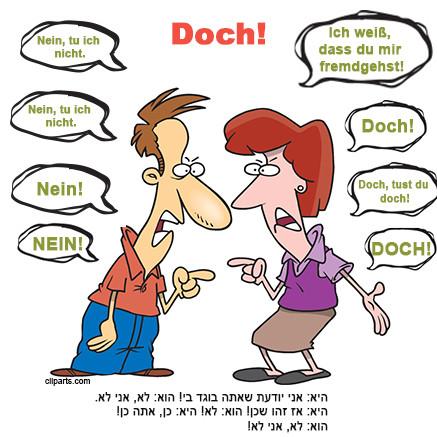 """המילה """"Doch"""""""