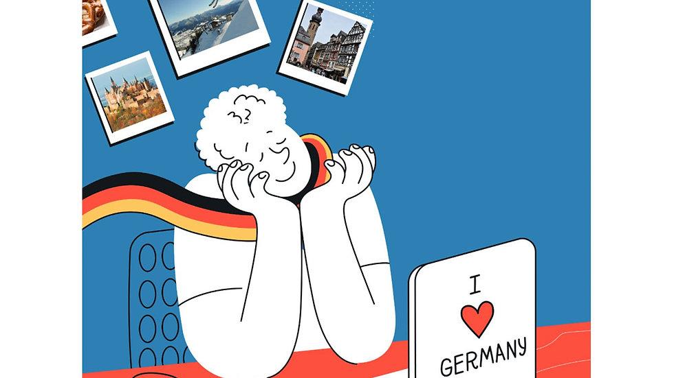 (קורס A1)  דברו גרמנית תוך חודשיים