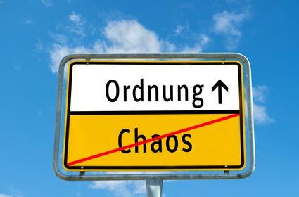 איך בונים משפט בגרמנית- חלק ראשון Ordnung muss sein