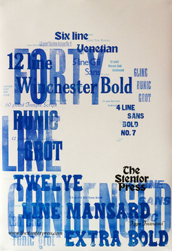 'Type Tsunami' Poster