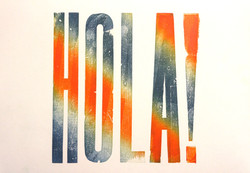 'Hola' Poster