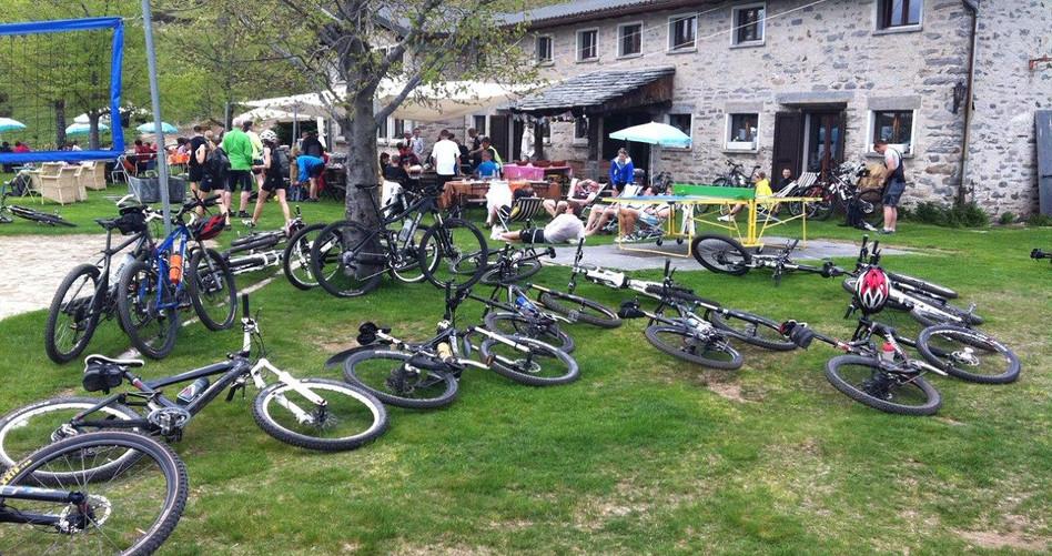 Von vielen Bikern besucht