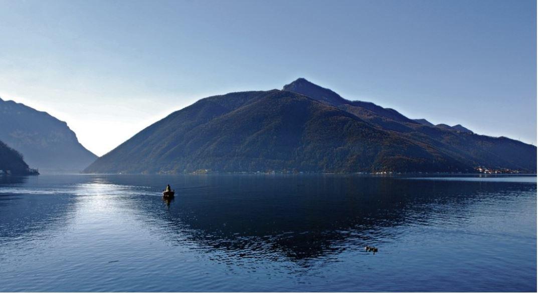 Sicht auf Monte San Giorgio