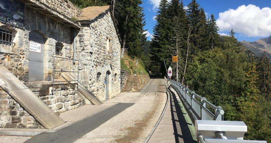 Bergstation der Ritom Bahn